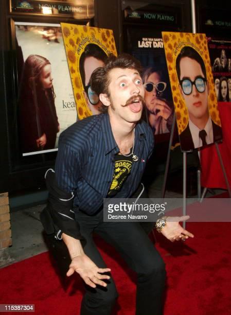 Eugene Hutz of Gogol Bordello during 'Everything is Illuminated' New York City Premiere Arrivals at Landmark's Sunshine Cinema in New York City New...