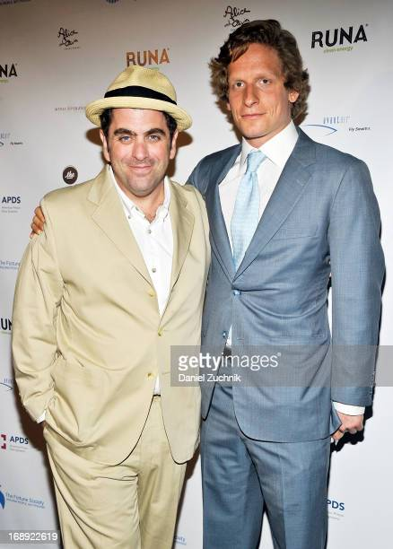 Eugene Jarecki and Luke Weil attend the 3rd Annual Spring Soiree Hosted By The Fortune Society at The Bowery Hotel on May 16 2013 in New York City