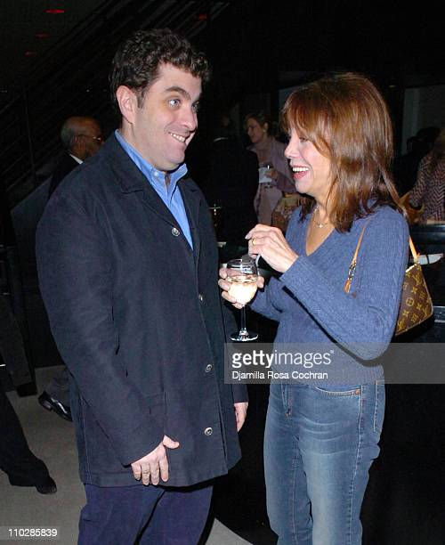Eugene Jarecki and Marlo Thomas during 'Why We Fight' New York City Screening January 17 2006 at Sony Screening Room in New York City New York United...
