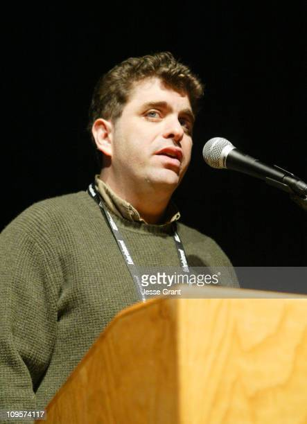 Eugene Jarecki director of 'Why We Fight' during 2005 Sundance Film Festival 'Why We Fight' Premiere at Prospector Theatre in Park City Utah United...