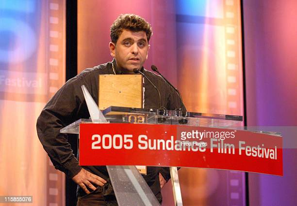 Eugene Jarecki winner of the Grand Jury Prize Documentary for 'Why We Fight'