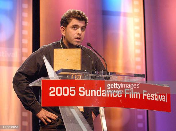 Eugene Jarecki winner of the Grand Jury Prize Documentary for Why We Fight