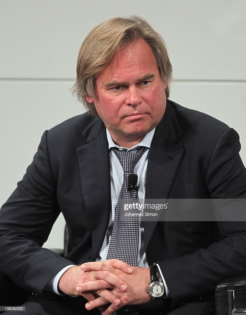 Eugene Kaspersky, CEO of Kaspersky Lab, participates in a panel discussion during day 3 of the 48th Munich Security Conference at Hotel Bayerischer Hof on February 5, 2012 in Munich, Germany. The 48th Munich conference on security policy is running till February 5, 2012.