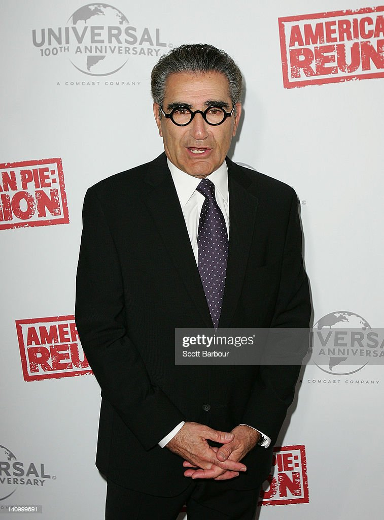Eugene Levy arrives at the Australian premiere of 'American Pie: Reunion' on March 7, 2012 in Melbourne, Australia.