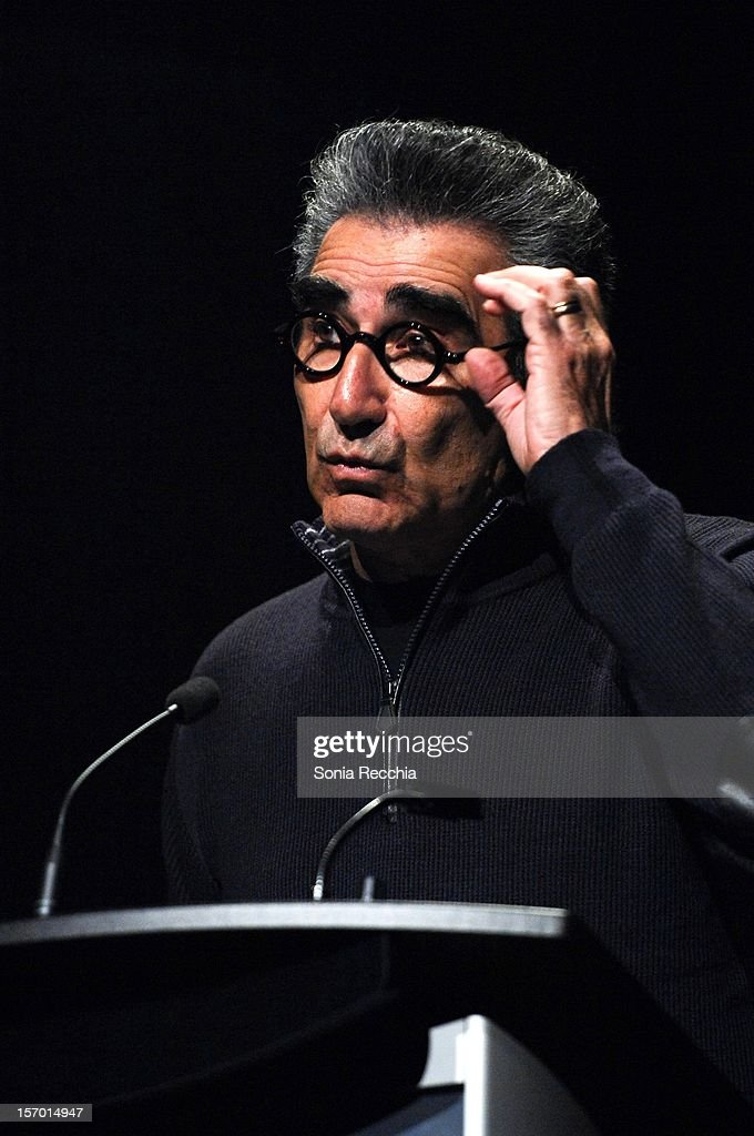 Eugene Levy attends CFC Presents An Evening With Leslie Mann And Judd Apatow at TIFF Bell Lightbox on November 26, 2012 in Toronto, Canada.