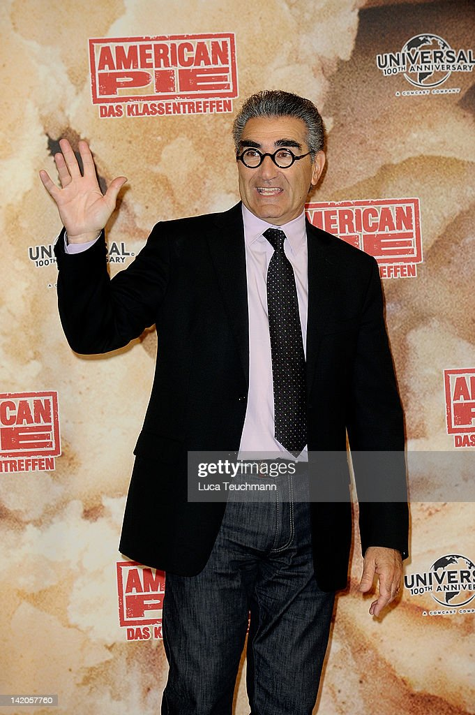 Eugene Levy attends the photocall of 'American Reunion' at Ritz Carlton on March 29 2012 in Berlin Germany