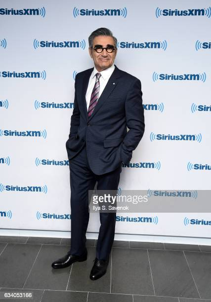 Eugene Levy visits the SiriusXM Studio on February 6 2017 in New York City