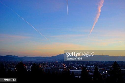 Eugene, OR Sunset