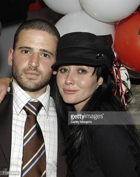 Eugene Remm of Level V and Shannen Doherty **Exclusive Coverage**