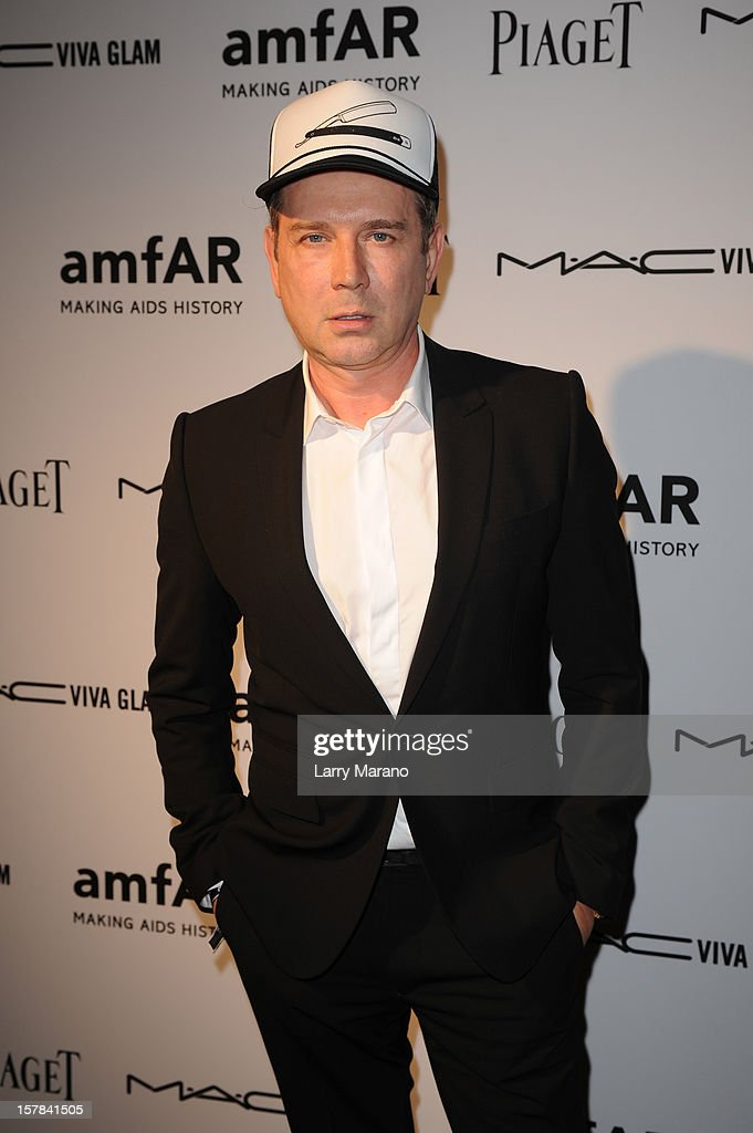 Eugene Sadovoy attends the amfAR Inspiration Miami Beach Party at Soho Beach House on December 6, 2012 in Miami Beach, Florida.