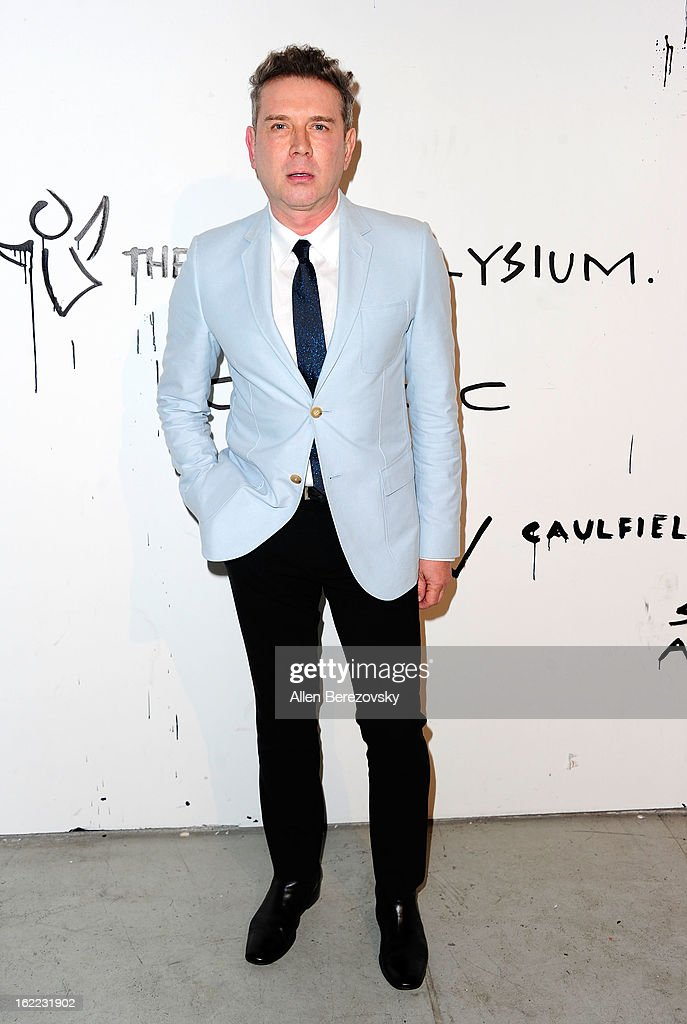 Eugene Sadovoy attends The Art of Elysium's 6th annual Pieces of Heaven charity art auction presented by Ciroc Ultra Premium Vodka at Ace Museum on February 20, 2013 in Los Angeles, California.