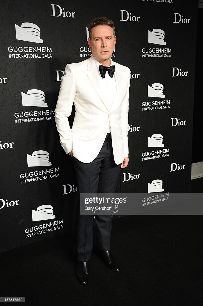 Eugene Sadovoy attends the Guggenheim International Gala, made possible by Dior, at the Guggenheim Museum on November 7, 2013 in New York City.