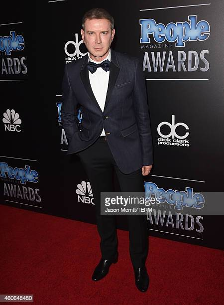 Eugene Sadovoy attends the PEOPLE Magazine Awards at The Beverly Hilton Hotel on December 18 2014 in Beverly Hills California