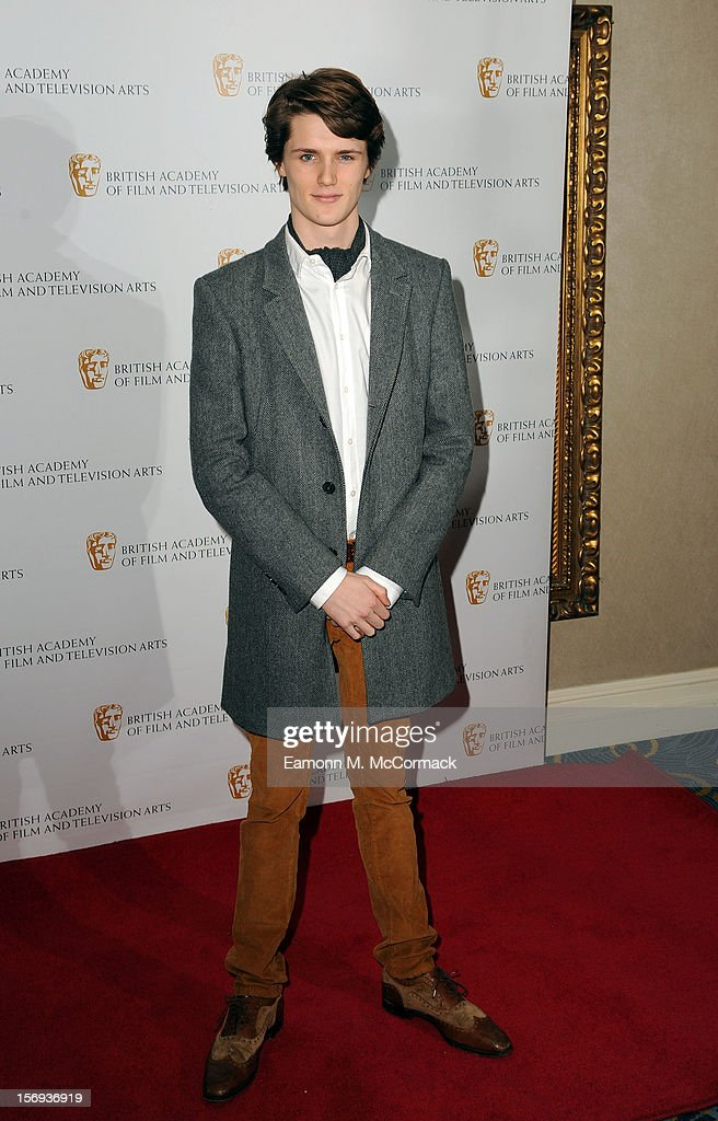 Eugene Simon of Nickelodeon's House of Anubis attends 2012 Children's BAFTA Awards at Hilton Park Lane on November 25, 2012 in London, England.
