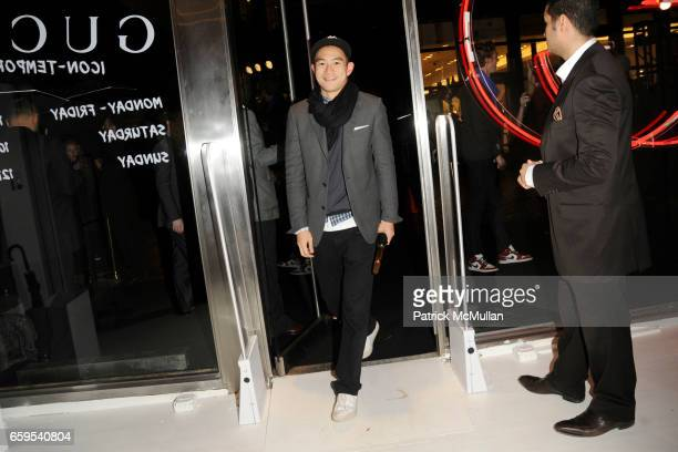Eugene Tong attends GUCCI celebrates 'Gucci IconTemporary' New York Store Opening at Gucci IconTemporary Store on October 23 2009 in New York City