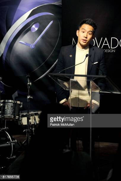 Eugene Tong attends MOVADO Presents The Night Of Discovery at Visual Arts Gallery at the School of Visual Arts on December 6 2010 in New York City
