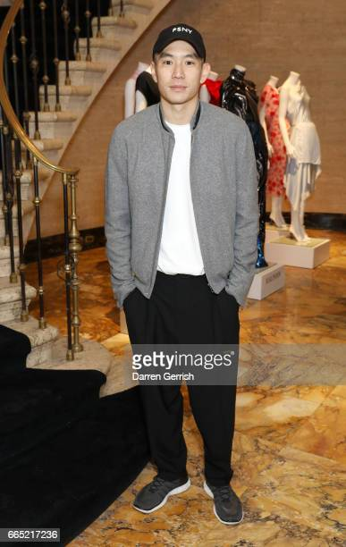 Eugene Tong attends the Matchesfashioncom 30th Anniversary Dinner on April 5 2017 in New York City