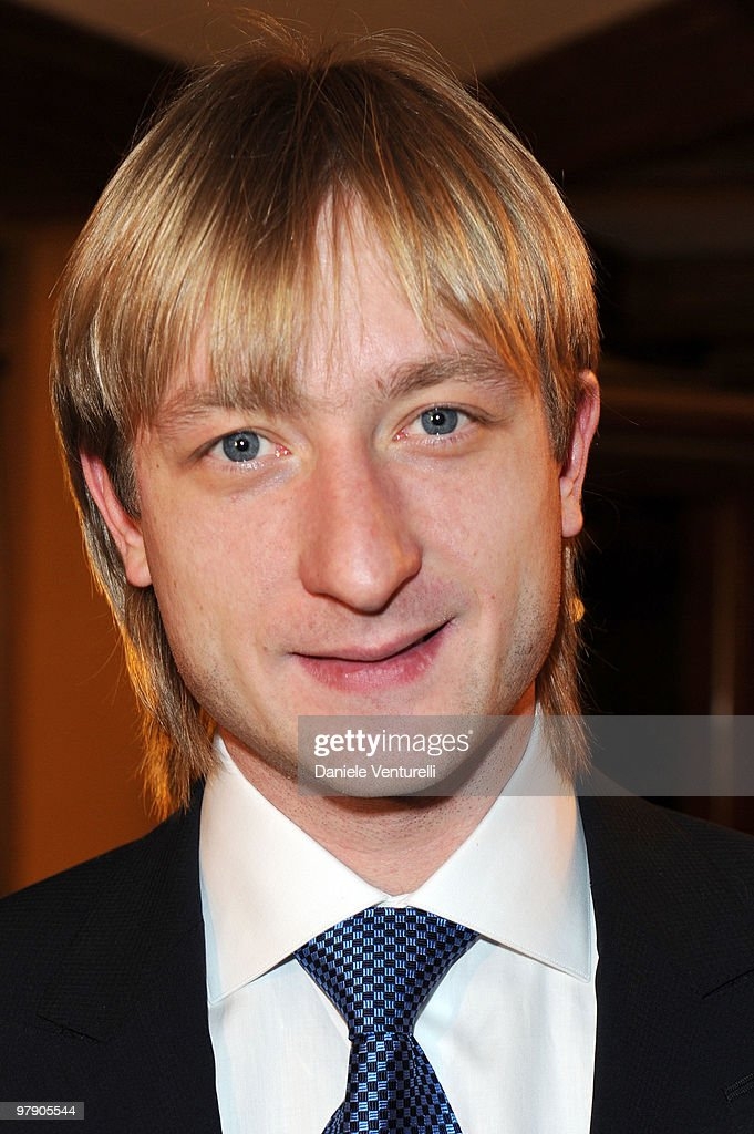 Eugeni Plushenko attends the 5th World Stars Ski Event held at Grand Hotel Sestriere on March 20 2010 in Sestriere Italy