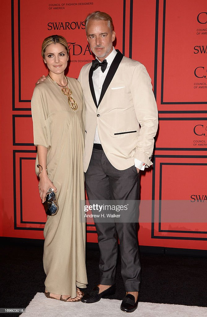 Eugenia Gonzalez (L) and Michael Bastian attend the 2013 CFDA Fashion Awards on June 3, 2013 in New York, United States.