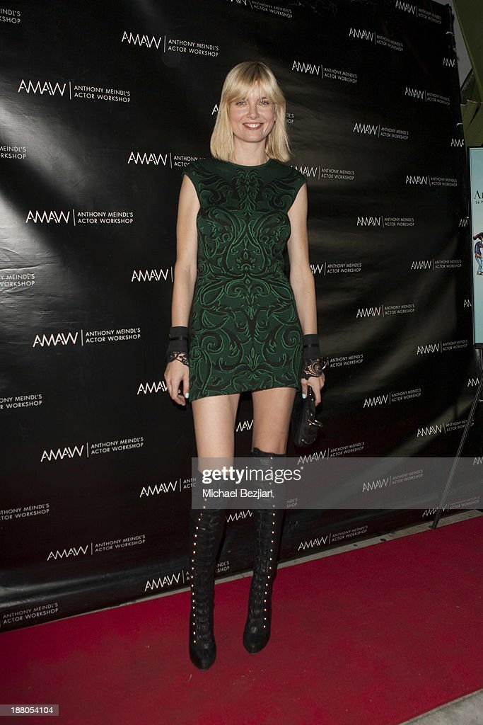 Eugenia Kuzmina attends Alphabet Soup For Grown-Ups Book Launch Party at Bugatta on November 14, 2013 in Los Angeles, California.