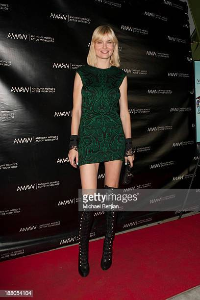 Eugenia Kuzmina attends Alphabet Soup For GrownUps Book Launch Party at Bugatta on November 14 2013 in Los Angeles California