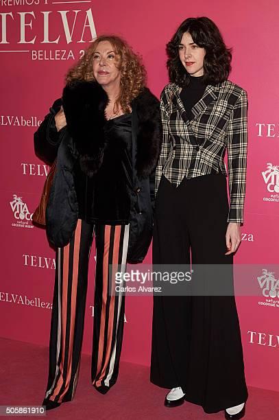 Eugenia Martinez de Castro and Brianda FitzJames Stuart attend the 'T De Belleza' Beauty Awards by Telva Magazine at the Ritz Hotel on January 20...