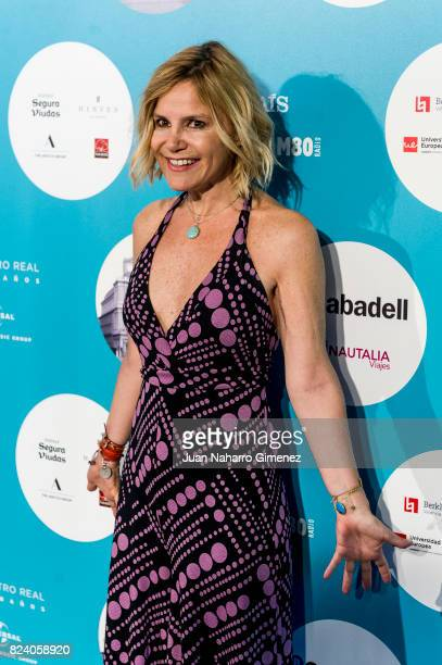 Eugenia Martinez de Irujo attends Rosaio concert at Teatro Real on July 28 2017 in Madrid Spain
