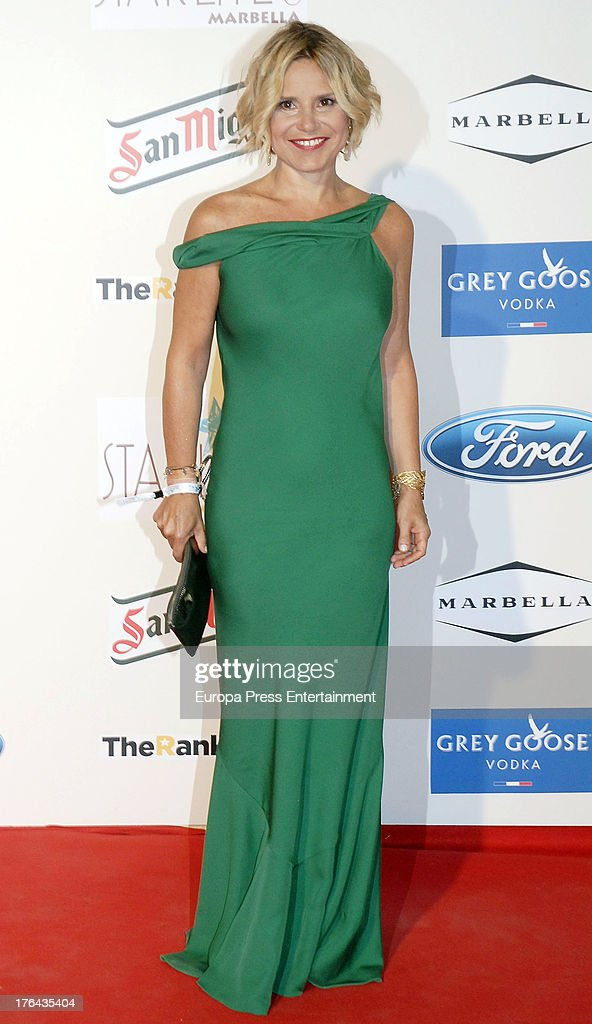 Eugenia Martinez de Irujo attends the 4rd annual Starlite Charity Gala on August 10, 2013 in Marbella, Spain.