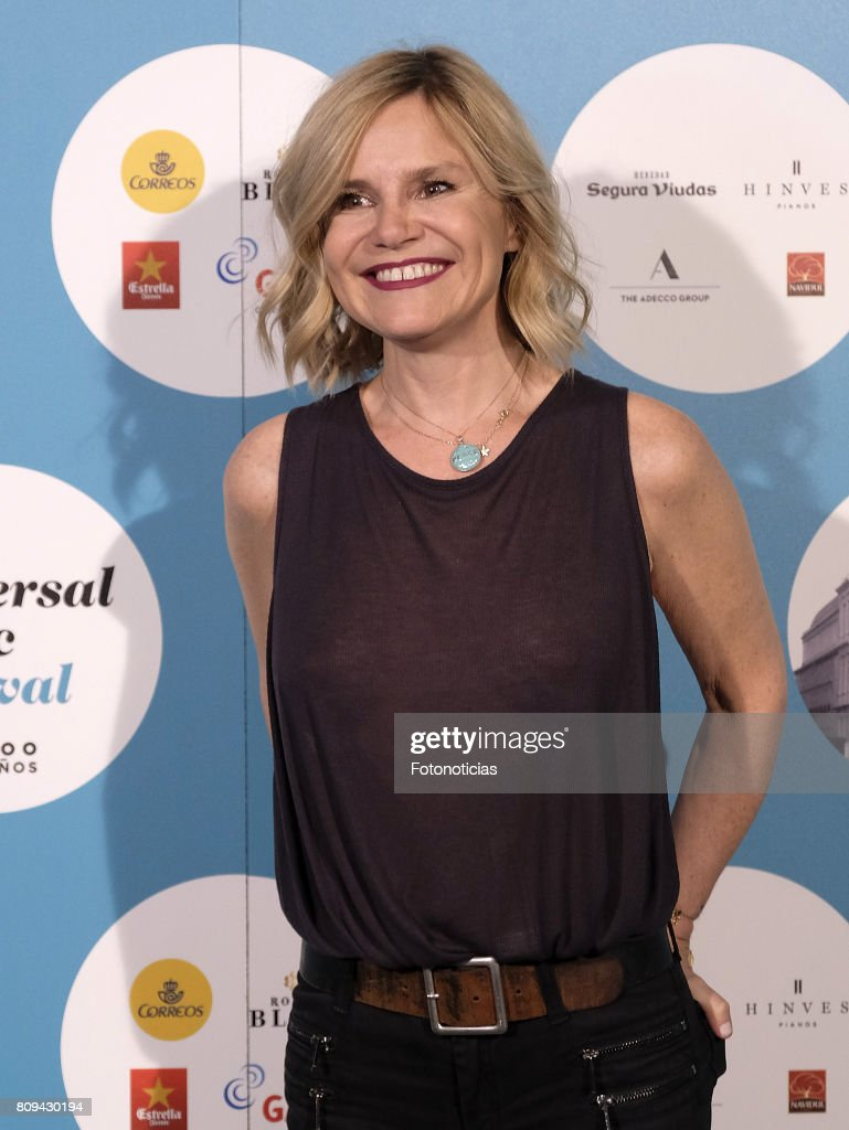 Eugenia Martinez de Irujo attends the Universal Music Festival Sting's concert at the Teatro Real on July 5, 2017 in Madrid, Spain.