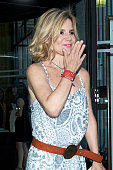 Celebrities Arrives At Zucchero Concert in Madrid
