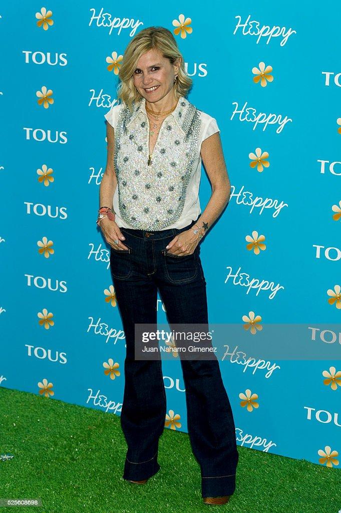 Eugenia Martinez de Irujo attends Tous 'Happy' sunglasses presentation at Fortuny Restaurant on April 28, 2016 in Madrid, Spain.