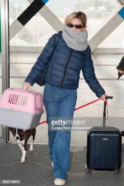 Eugenia Martinez de Irujo is seen on February 13 2017 in Madrid Spain