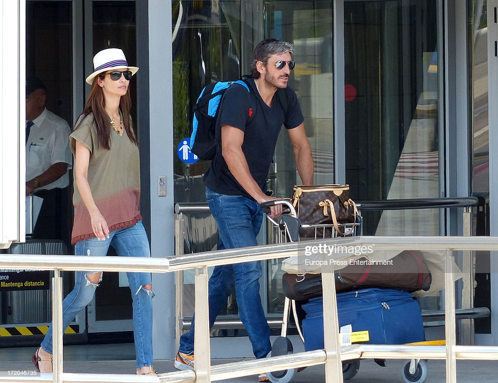 Eugenia Silva and Alfonso de Borbon are seen on June 30 2013 in Ibiza Spain