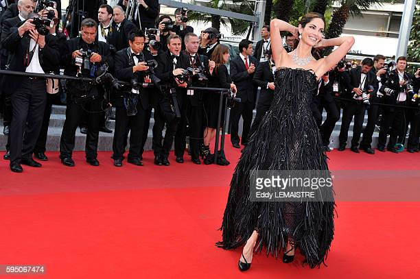 Eugenia Silva at the premiere of Poetry during the 63rd Cannes International Film Festival