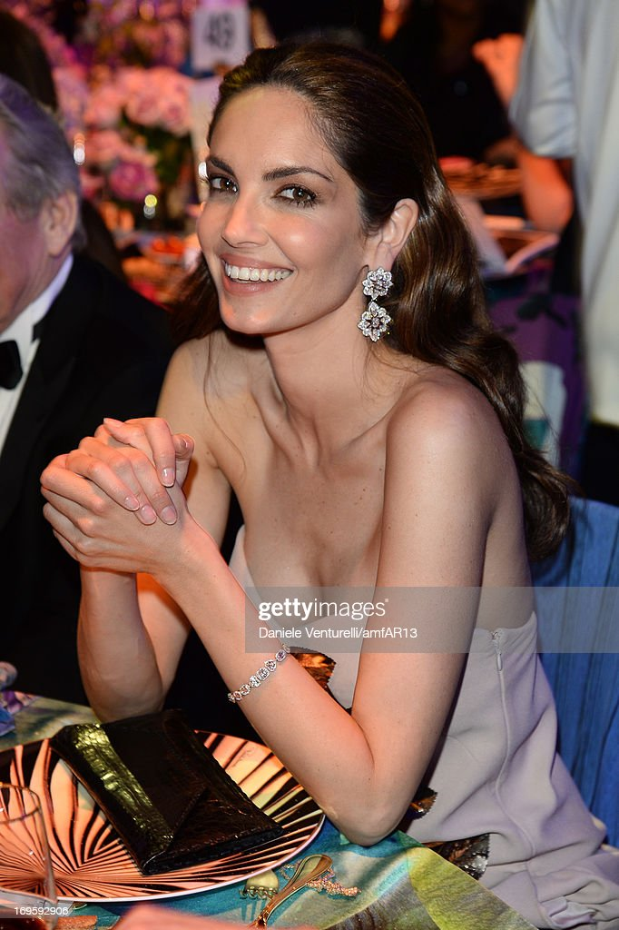 Eugenia Silva attends amfAR's 20th Annual Cinema Against AIDS during The 66th Annual Cannes Film Festival at Hotel du Cap-Eden-Roc on May 23, 2013 in Cap d'Antibes, France.