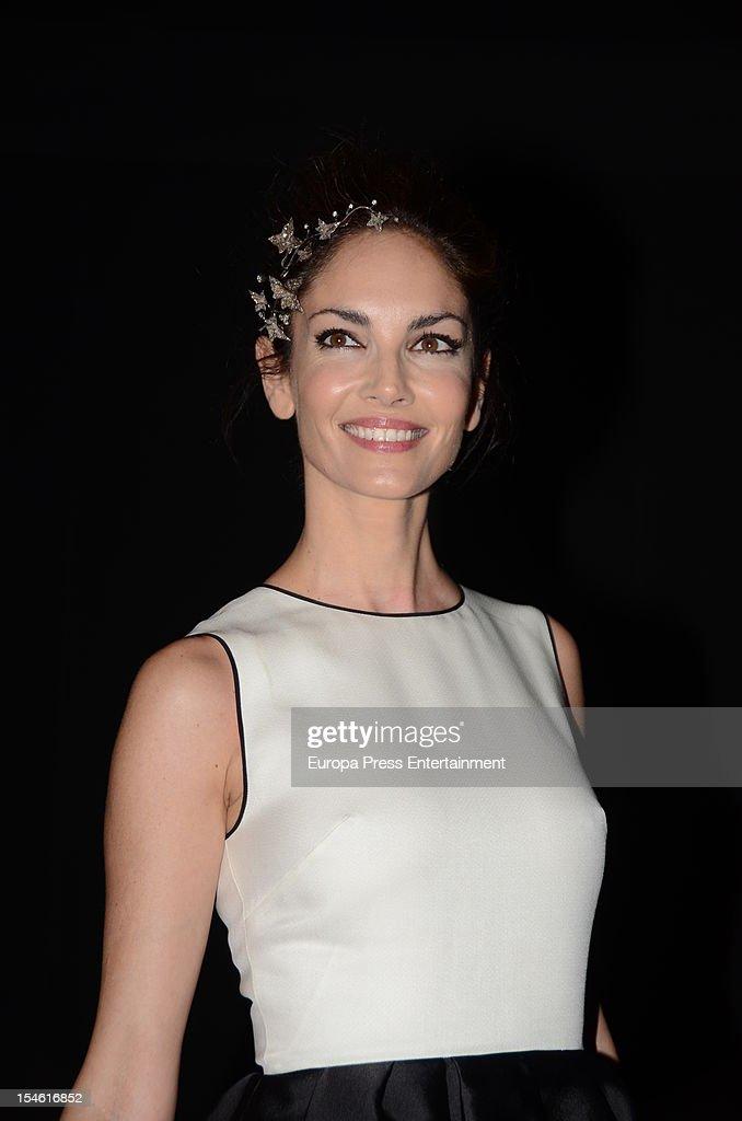 Eugenia Silva attends 'Cartier Exhibition' gala presentation at Thyssen Museum on October 22 2012 in Madrid Spain