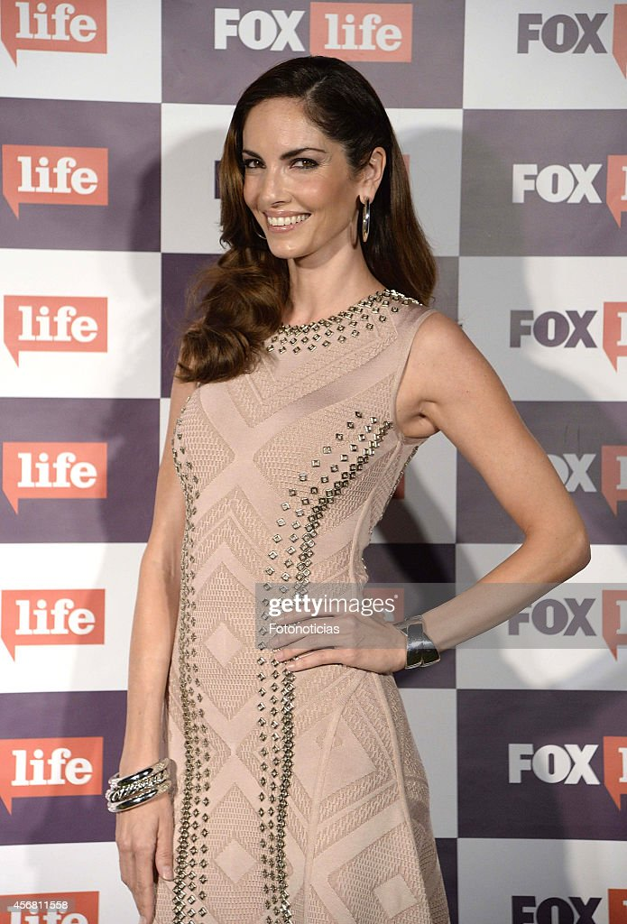 Eugenia Silva attends Fox Life channel cocktail presentation at Club Pinar on October 7 2014 in Madrid Spain