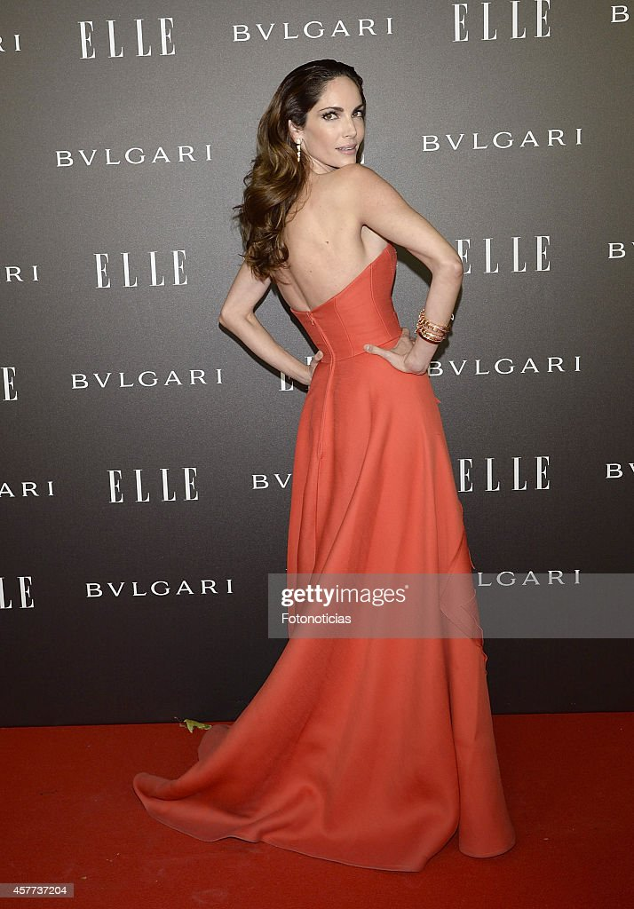 Eugenia Silva attends the Elle Style Awards party at the Italian Embassy on October 23 2014 in Madrid Spain