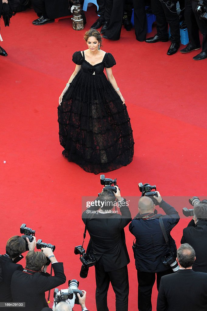 Eugenia Silva attends 'The Immigrant' Premiere during the 66th Annual Cannes Film Festival at Grand Theatre Lumiere on May 24 2013 in Cannes France