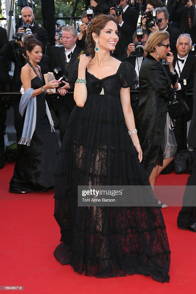 Eugenia Silva attends the premiere of 'The Immigrant' at The 66th Annual Cannes Film Festival on May 24, 2013 in Cannes, France.
