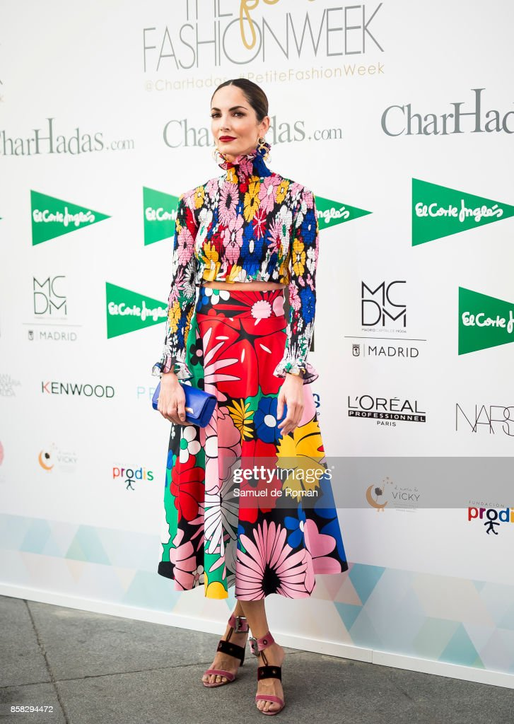 Eugenia Silva during 'The Petite Fashion Week' Photocall in Madrid on October 6, 2017 in Madrid, Spain.