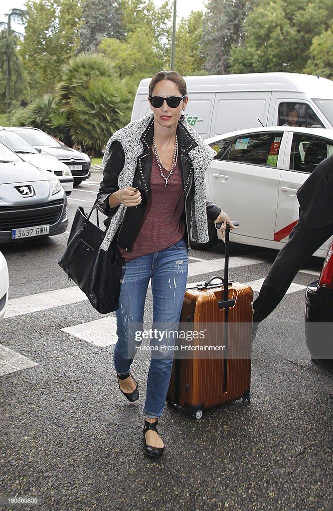 Eugenia Silva is seen on September 11 2013 in Madrid Spain