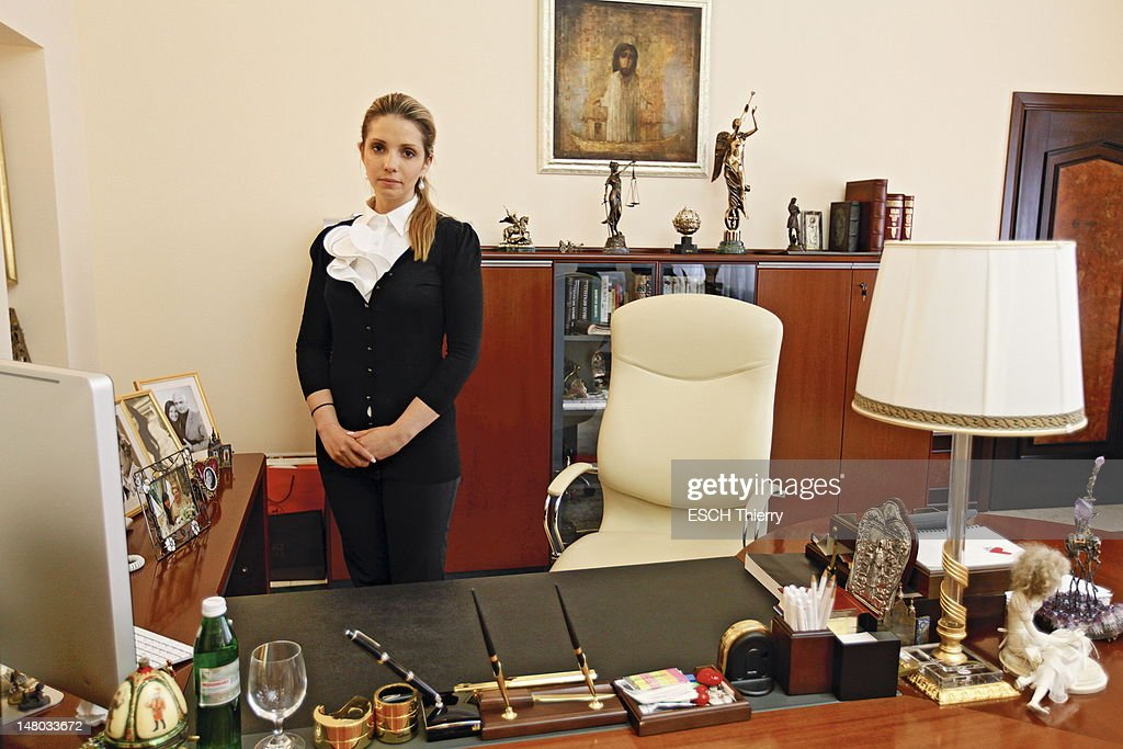 Eugenia Tymoshenko visits her mother Yulia Tymoshenko the former Ukrainian prime minister jailed for abuse of power who has been on a hunger strike for the past 3 weeks at the hospital in Kharkiv to alert foreign governments on May 11, 2012 in Kharkiv, Ukraine.