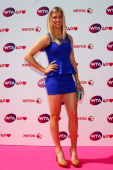 Eugenie Bouchard arrives for the WTA 40 Love Celebration during Middle Sunday of the Wimbledon Lawn Tennis Championships at the All England Lawn...