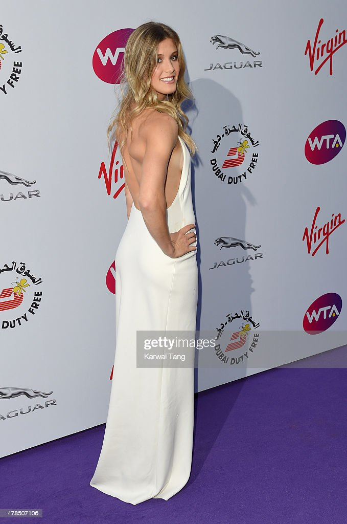 <a gi-track='captionPersonalityLinkClicked' href=/galleries/search?phrase=Eugenie+Bouchard&family=editorial&specificpeople=5678779 ng-click='$event.stopPropagation()'>Eugenie Bouchard</a> attends the WTA Pre-Wimbledon Party at Kensington Roof Gardens on June 25, 2015 in London, England.