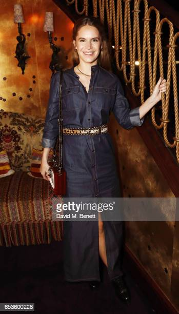 Eugenie Niarchos attends a cocktail party celebrating the launch of Vanessa Seward's first London store at Loulou's on March 15 2017 in London England
