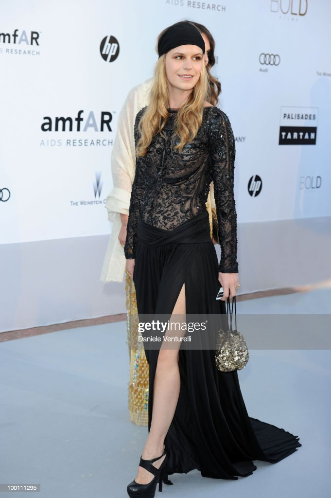 Eugenie Niarchos attends the amfAR's Cinema Against Aids Gala at the Hotel Du Cap during the 63rd International Cannes Film Festival on May 20, 2010 in Antibes, France.