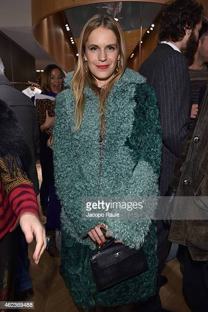 Eugenie Niarchos attends the Missoni opening store at 219 Rue Saint Honore during the Paris Fashion Week Haute Couture Spring/Summer 2015 on January...
