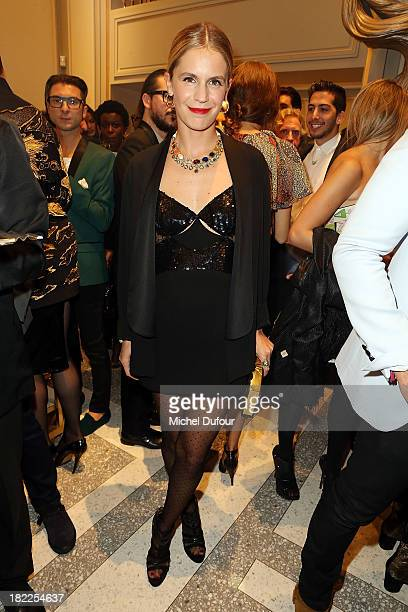 Eugenie Niarchos attends The Opening Of Pucci New Boutique At 46/48 Avenue Montaigne on September 28 2013 in Paris France