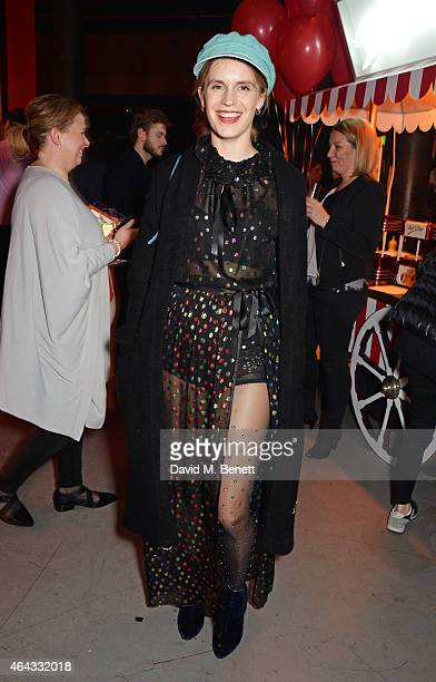 Eugenie Niarchos attends the The World's First Fabulous Fund Fair hosted by Natalia Vodianova and Karlie Kloss in support of The Naked Heart...